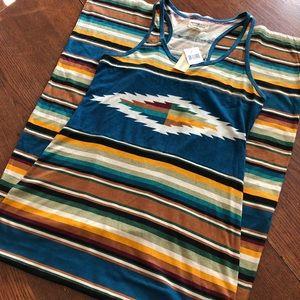 Denim & Supply Ralph Lauren Maxi Dress NWT Aztec